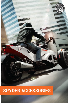 OEM CAN-AM SPYDER ACCESSORIES